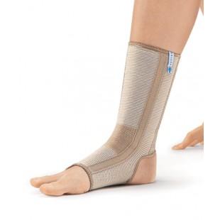 Эластичный бандаж на голеностопный сустав с ребрами жесткости