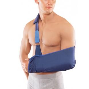 Косыночный бандаж для легкой фиксации плечевого сустава и поддержки руки