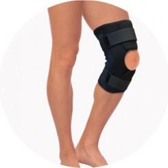Бандаж на коленный сустав шарнирный