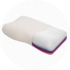 """Ортопедическая подушка трехслойная с """"эффектом памяти"""""""