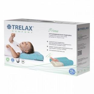 Детская ортопедическая подушка от 1,5 до 3 лет с эффектом памяти TRELAX